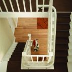 Stairlift above view